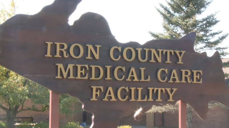 Iron County Medical Care Facility sign