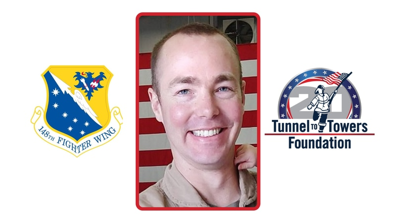 U.S. Air Force Captain Durwood Jones, 37, died when the F-16 fighter jet he was piloting...