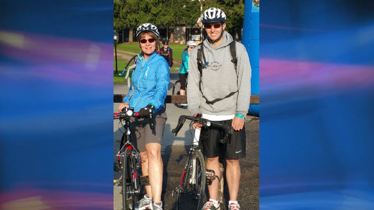 Photo courtesy: Michigan DNR; Riding partners Sharon Crain and Jeff Ring began a journey on...
