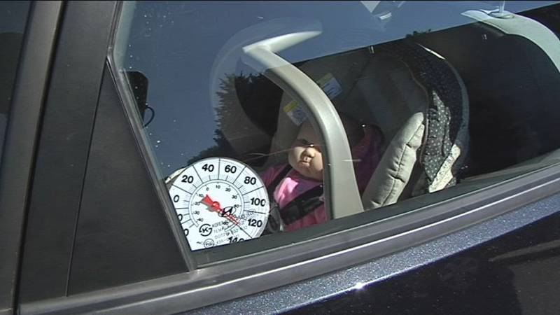 Each year, between 30 and 50 children die across the U.S. from being left in hot cars.