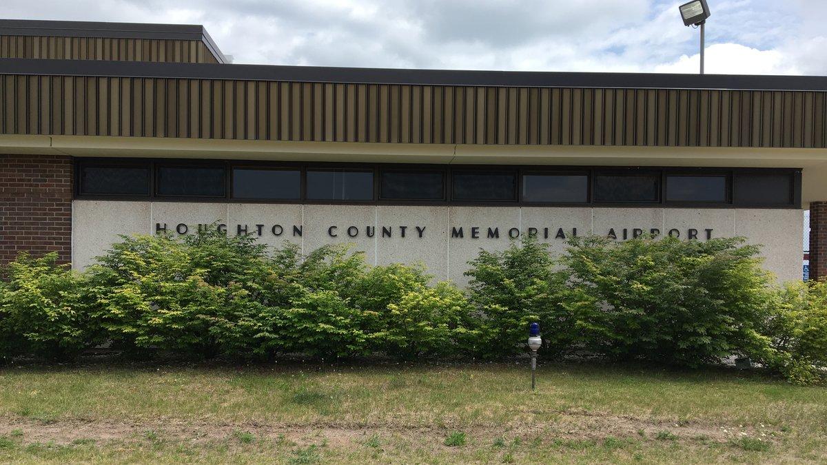 FILE. Houghton County Memorial Airport.