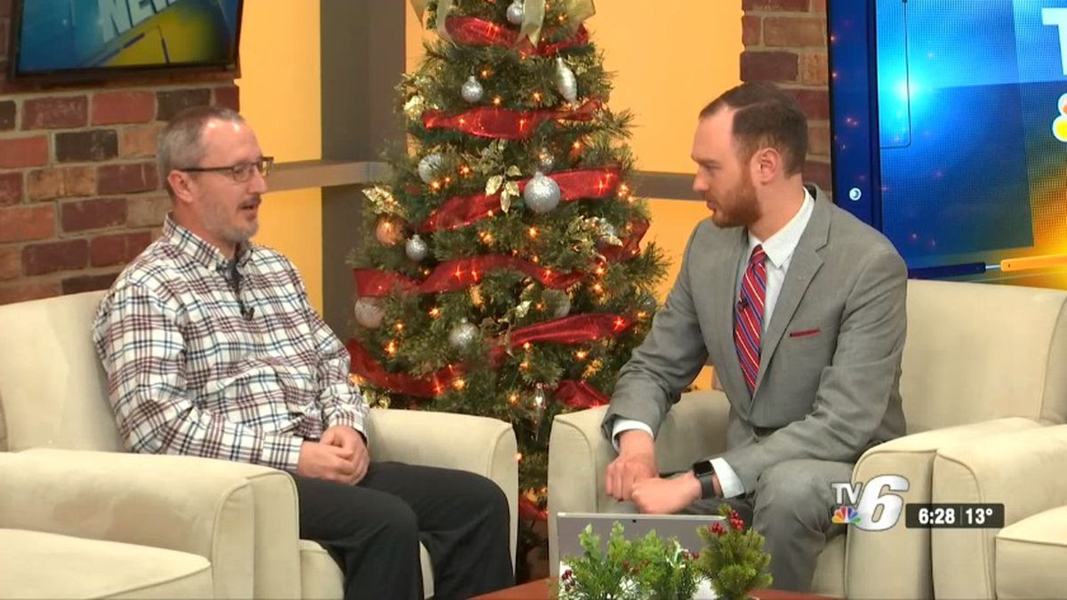 UPHS-Marquette RN Joe Ackerman shares tips on how to have a heart healthy holiday season (WLUC image).