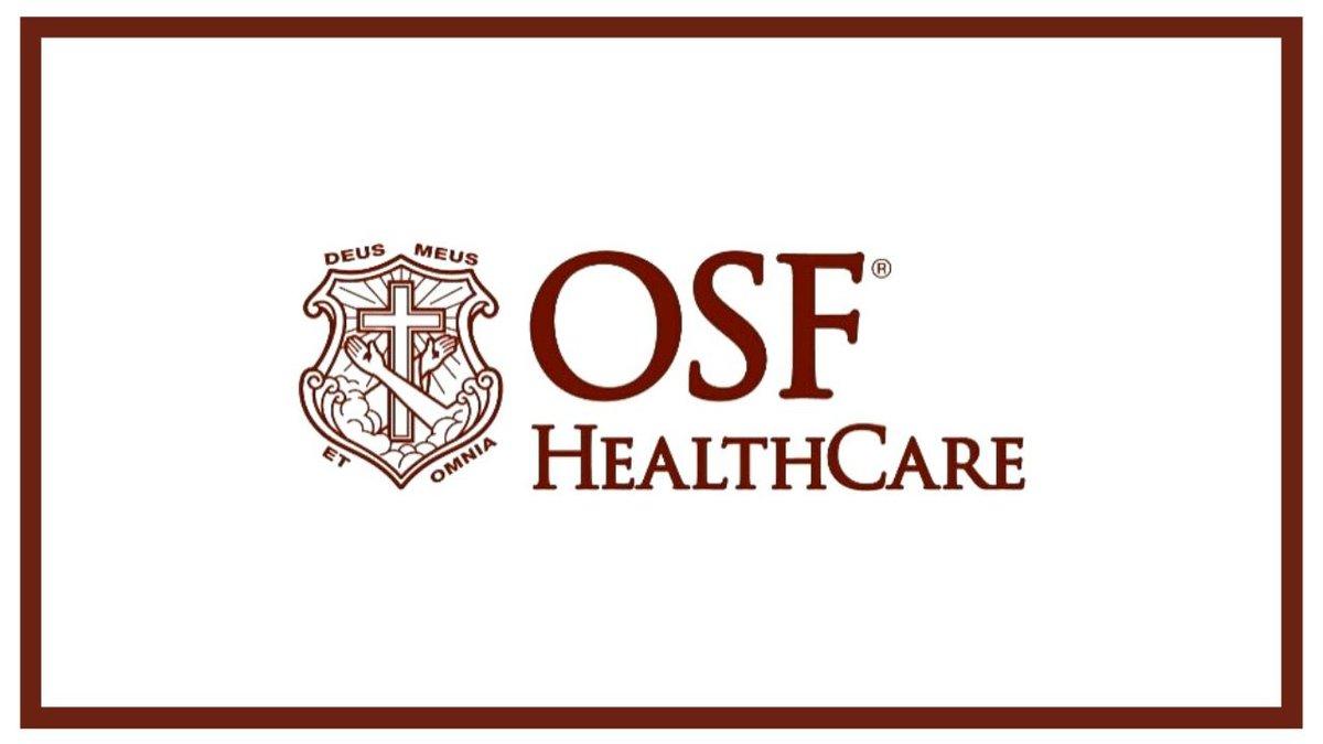 (OSF Healthcare logo)