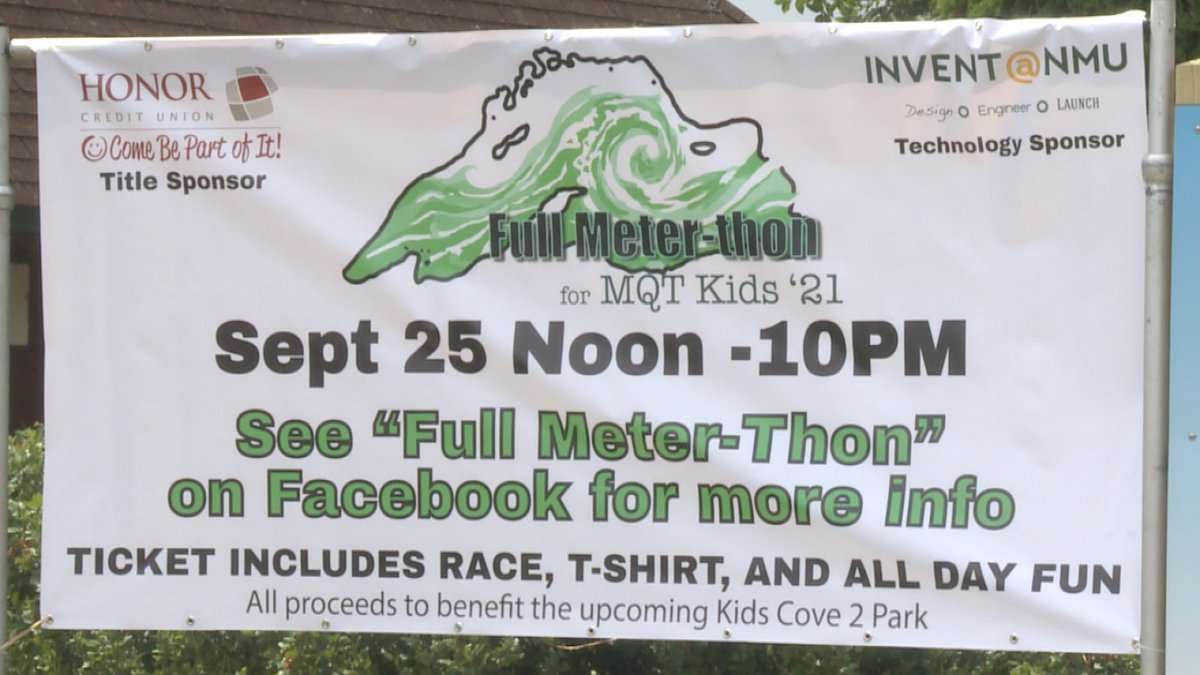A banner for the Full Meter-thon.