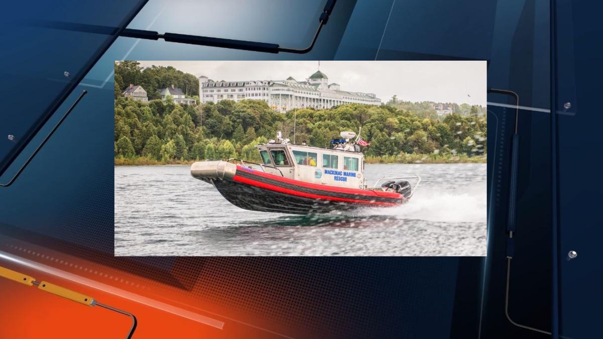 Mackinac Marine Rescue boat