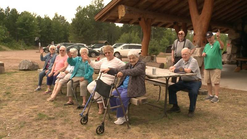 The group kicked off their first outing of the season Thursday at Lakenenland sculpture park.