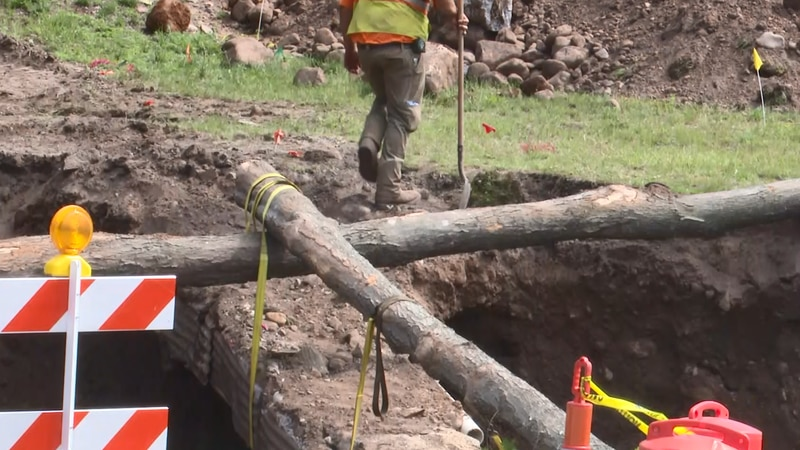 The Houghton County Road Commission is working on many projects.