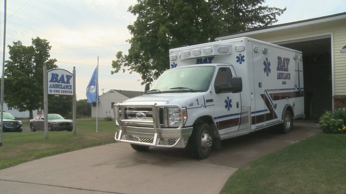 Bay Ambulance has had to expand its coverage, due to other EMS services shutting down.