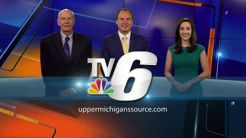 Signing off: TV6 anchor Greg Trick signs off for the last time