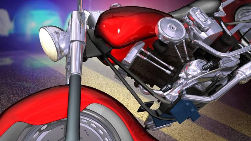 One man dies in lone motorcycle crash