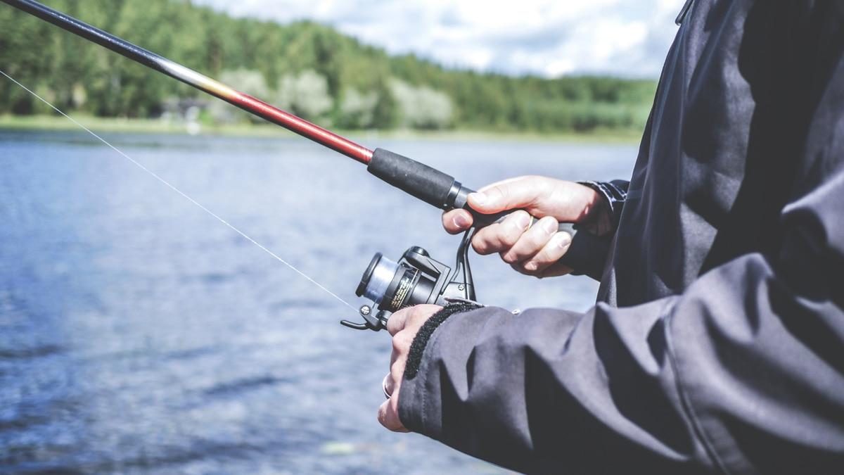 Fishing photograph.