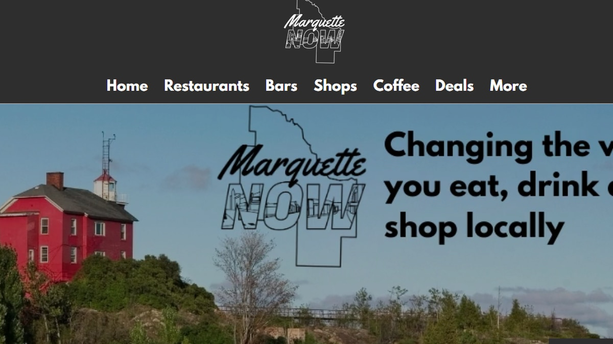 The new Marquette Now website will help local businesses share their information in one place
