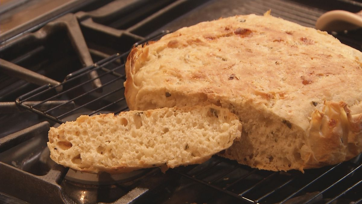 No knead bread from the Yooper Goddess