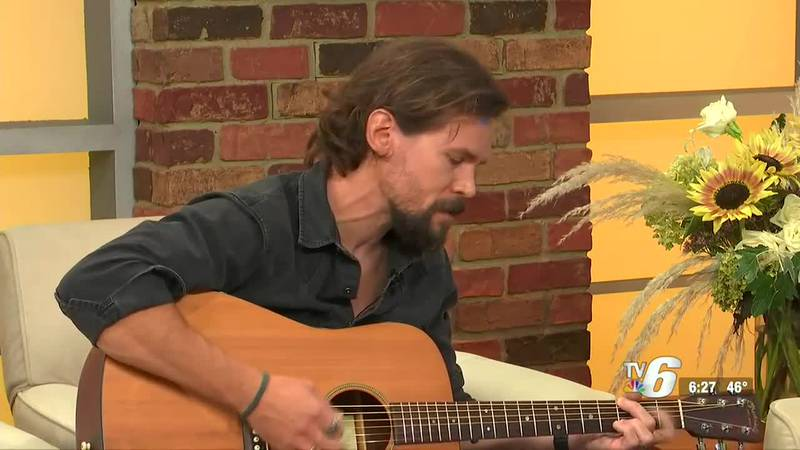 He stopped by the Morning News to perform and share the inspiration behind his newest piece