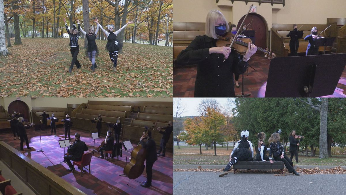 The Marquette Symphony Orchestra and TaMaMa Dance Company combined for a virtual Halloween...