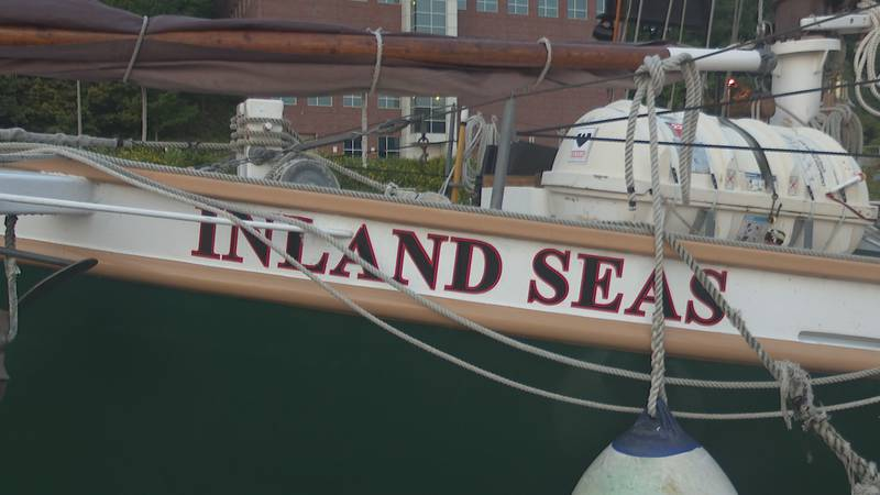The school ship for the Inland Seas Education Association.