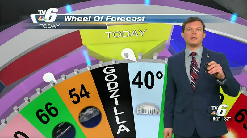 Considerable clouds stick with us today, along with slightly above-average temperatures