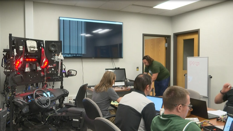 System to be taught to other NMU students and K-12 students