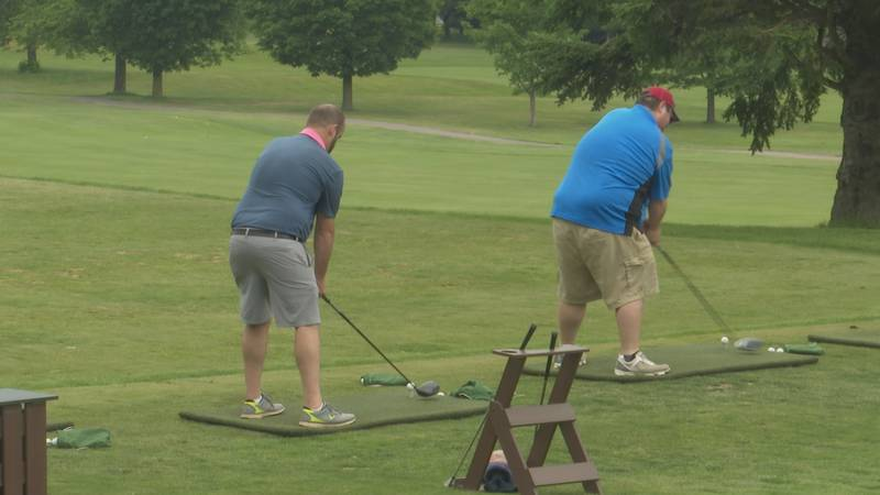 28 teams registered for the first annual YMCA golf tournament.