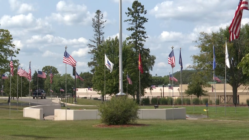 The hospital supports veterans from past and present
