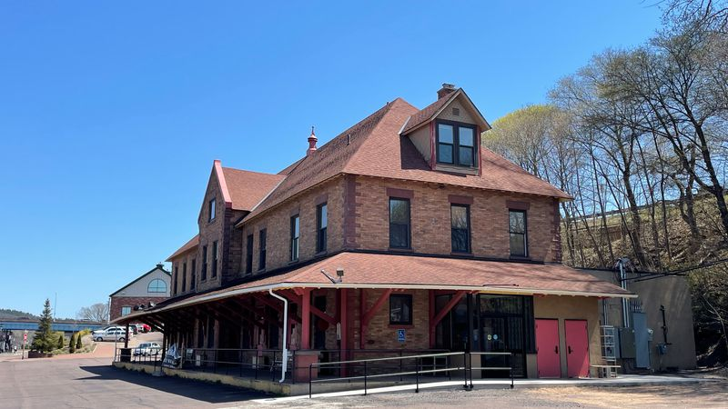 The Copper Range Depot used to be a train station. Now, it's going to be a restaurant.