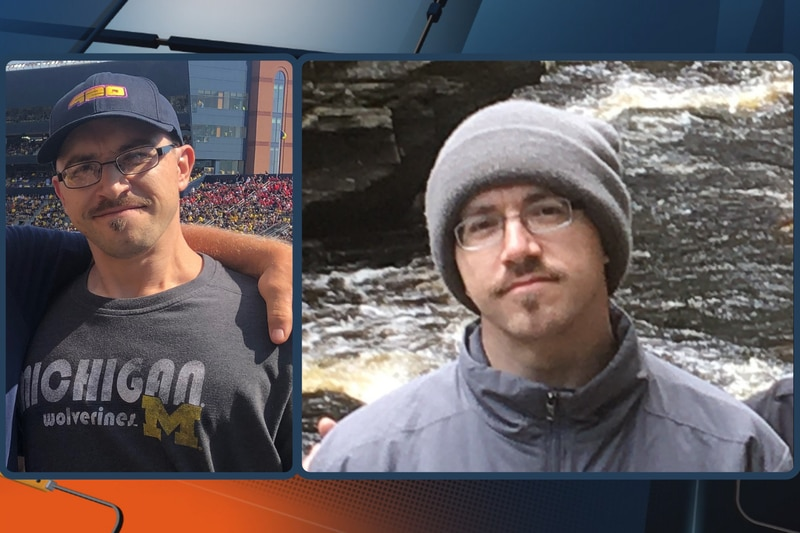 Photos of Aaron McGeorge, of Marquette Township.