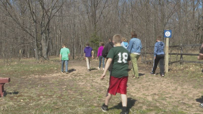 Students will hike 5 miles a day, for four days.