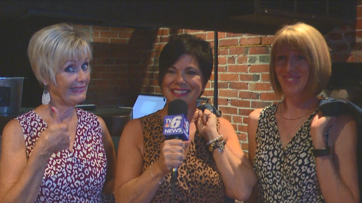 """Chickadees Owner, Micki Sliva, stands to interview with her """"Chickadees Chicks."""""""
