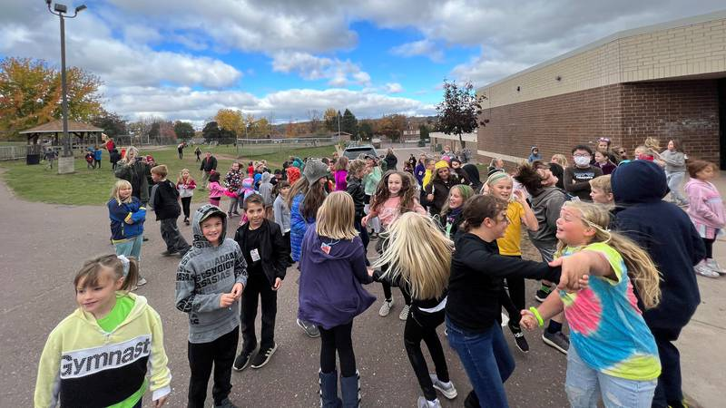 """Kids had a great time at the """"Rock Your School"""" event."""