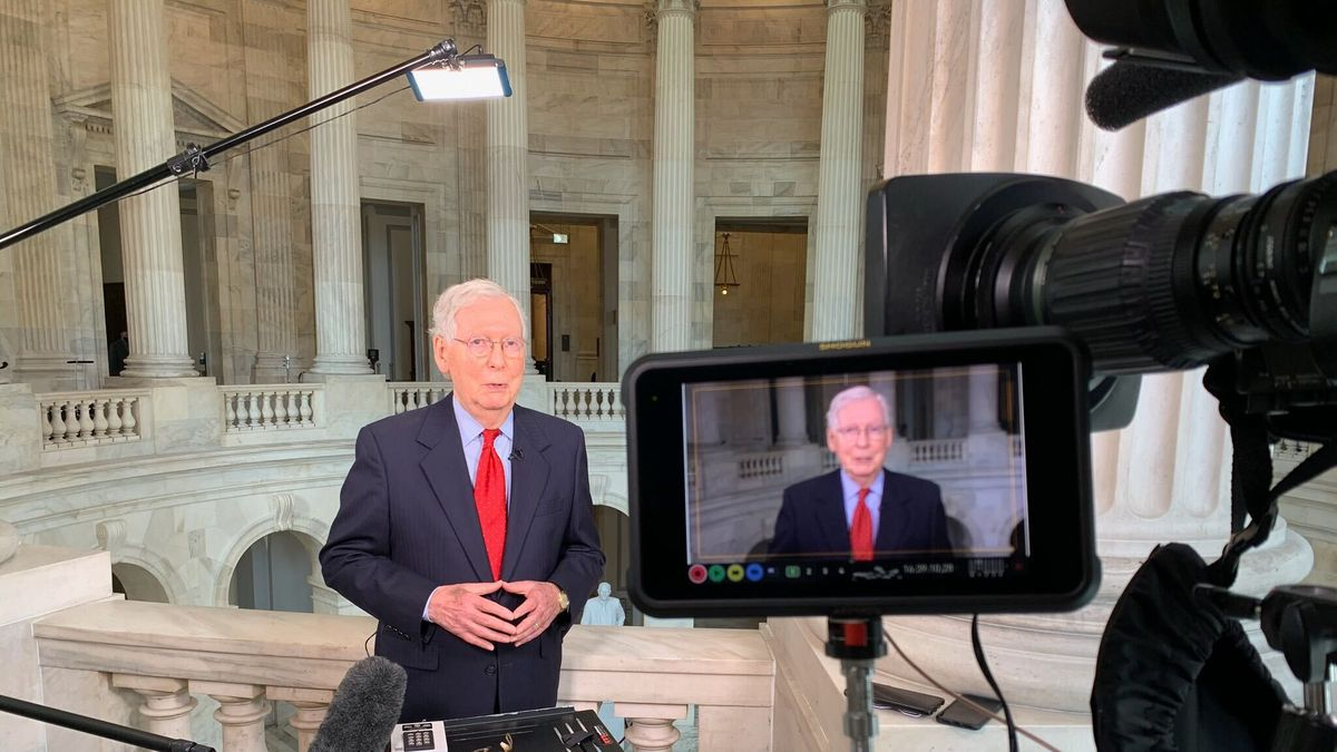 Full Court Press Mitch McConnell interview