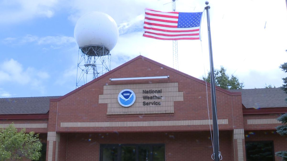 National Weather Service-Marquette office as seen in August 2019. (WLUC Photo)