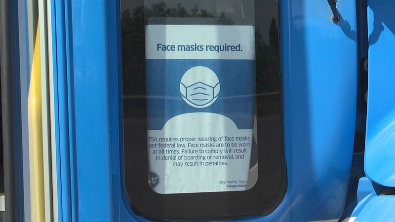 All drivers and passengers must wear a face mask regardless of vaccine status.