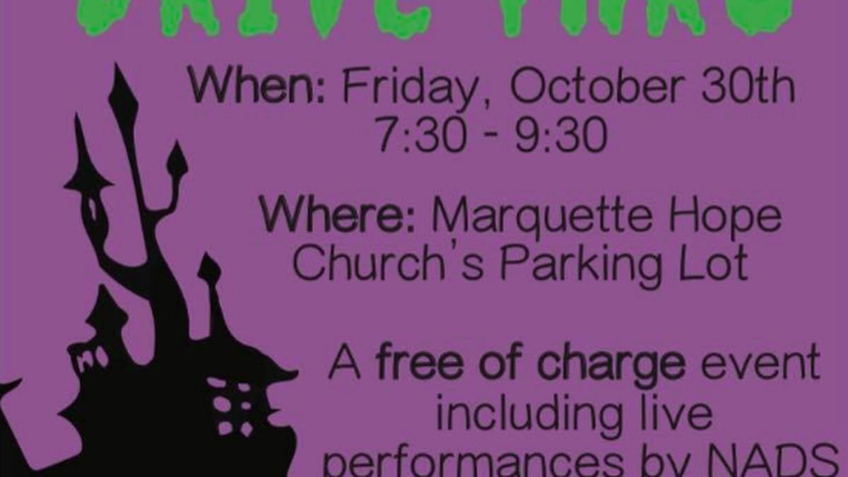 The New Attitudes Dance Studio will hold a Halloween Drive Thru Dance October 30