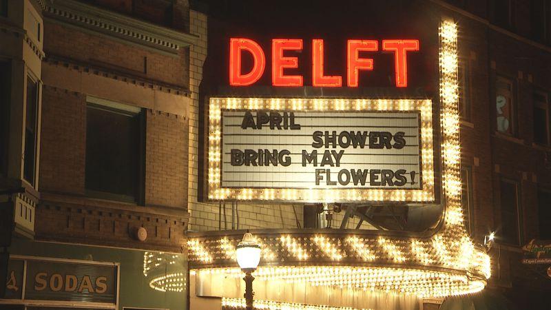The Delft Bistro in downtown Marquette