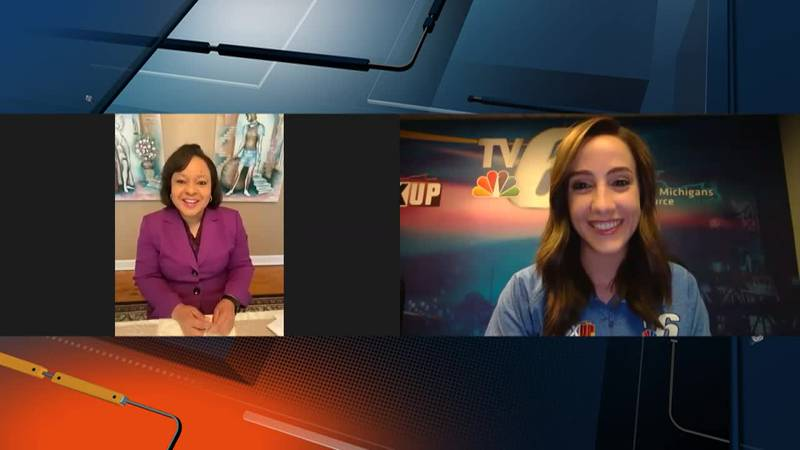 Georgia news anchor Dawn Baker talks about being the first person to receive a vaccine in...