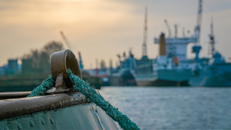 Maritime infrastructure image.