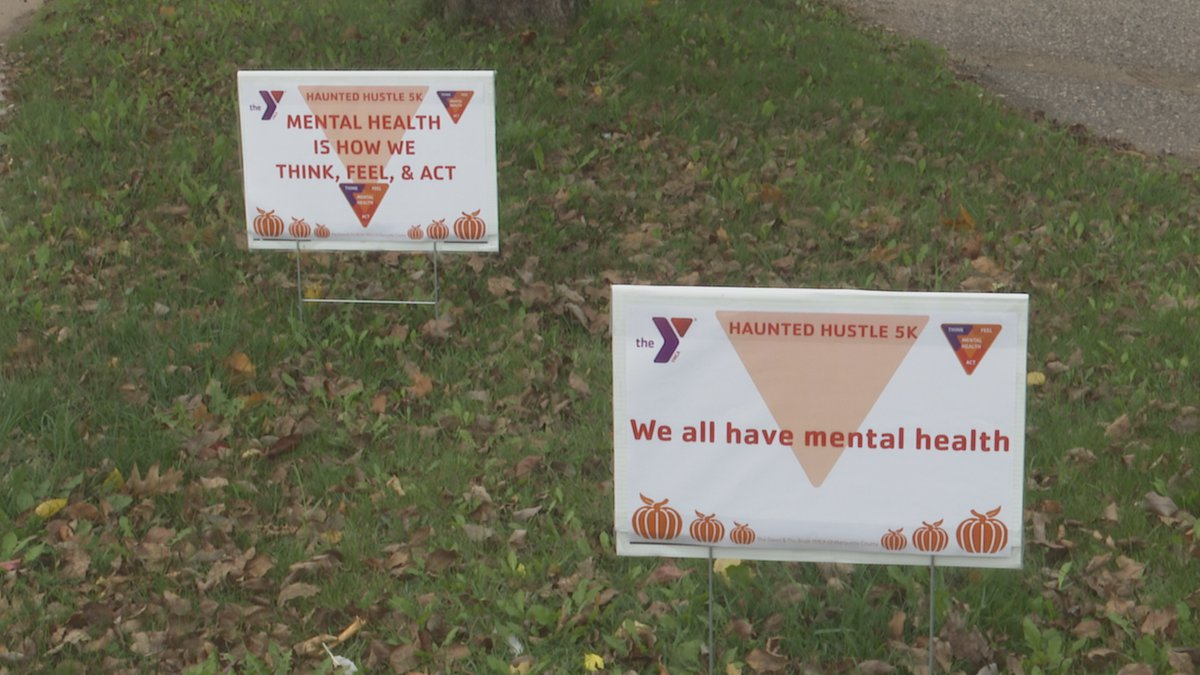 The Haunted Hustle 5K will help support the Y's focus on mental health.