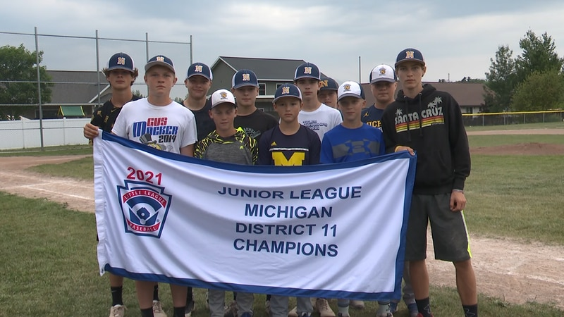 The eleven boys and their families and coaches will head to Saginaw Wednesday, July 21.