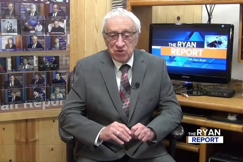 TV6's Don Ryan during the Jan. 17, 2021 episode of The Ryan Report.