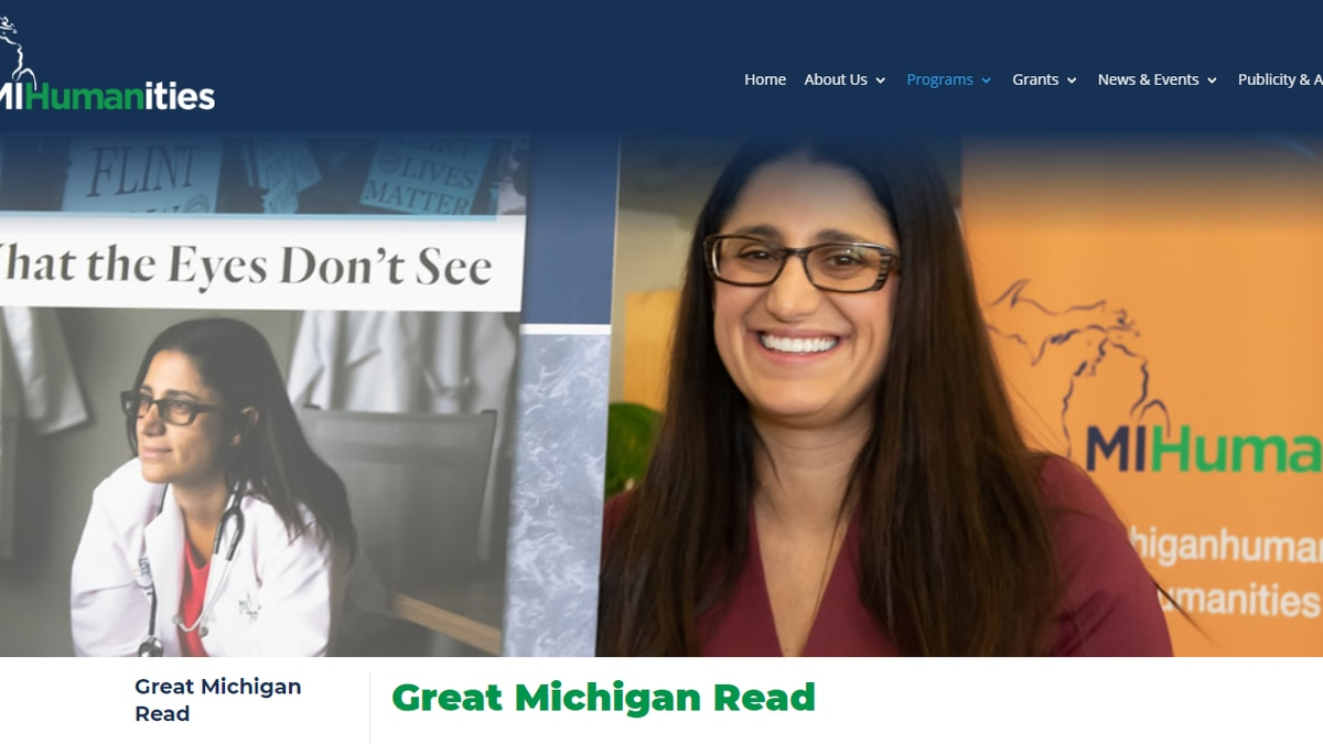 The Great Michigan Read will be online this year