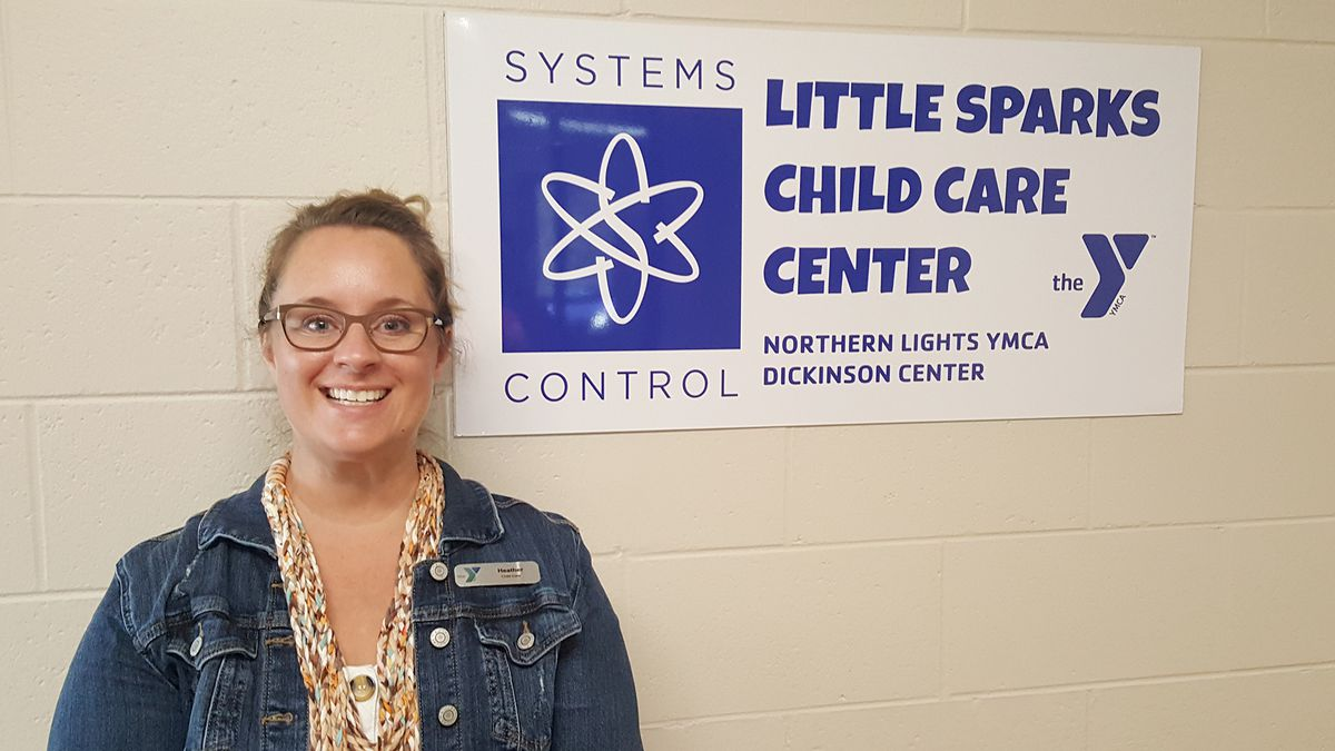 Heather Poll has been promoted to director of the Systems Control Little Sparks Child Care Center at the Northern Lights YMCA in Iron Mountain.
