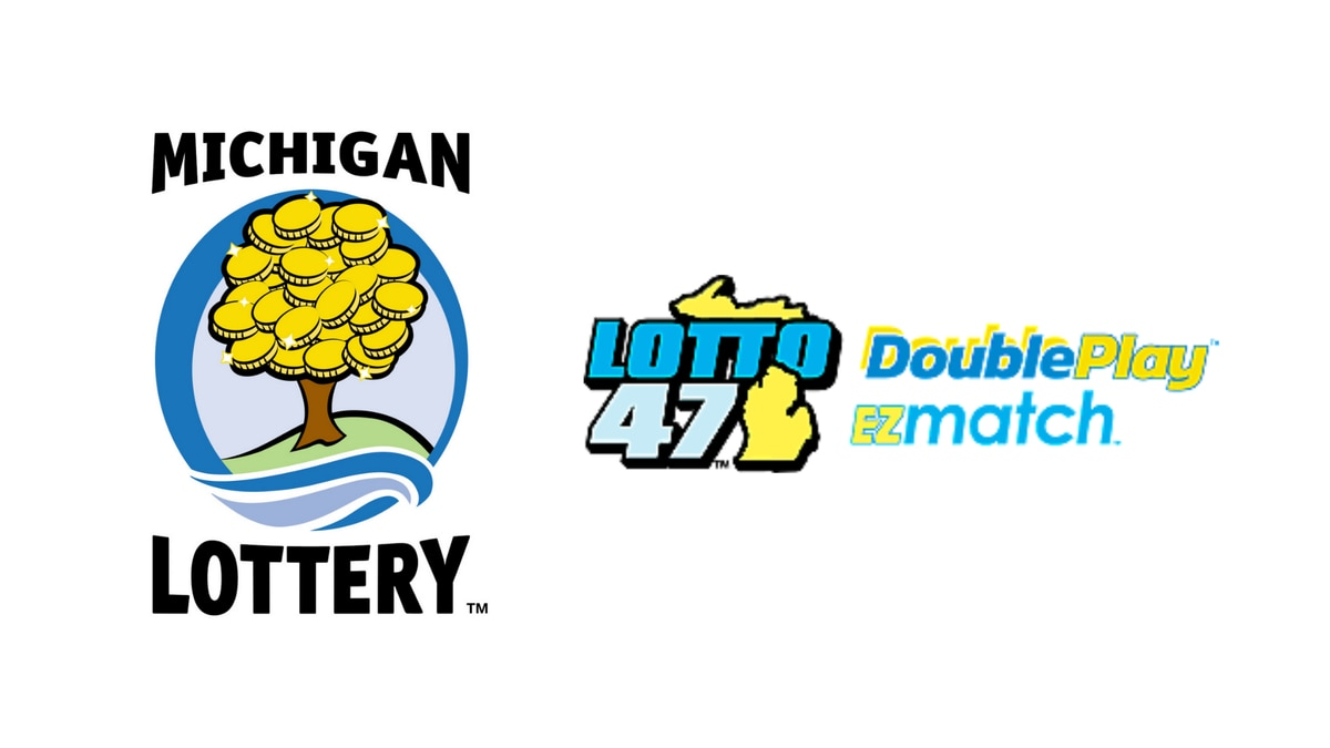 Michigan Lottery and Lotto 47 logos.