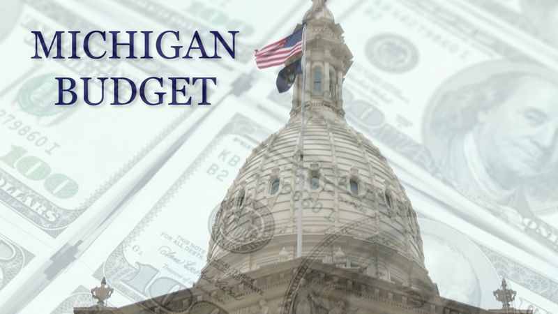 Michigan budget graphic.