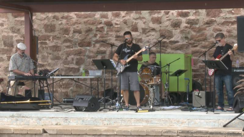 """Kind of Blues performs """"Blues for Karl Bohnak"""" at Out to Lunch."""