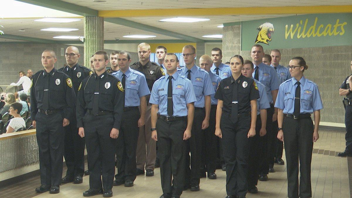 NMU Regional Police Academy Graduation