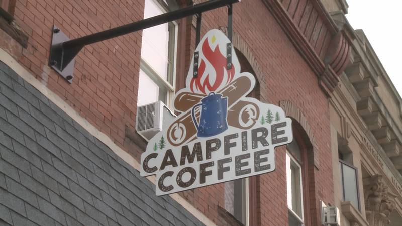 Campfire Coffee is located on Iron Street downtown.