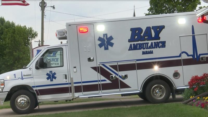 Bay Ambulance unveils its newest vehicle: a 2021 Ford E-450