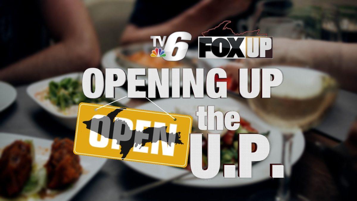 Opening Up the U.P. graphic.
