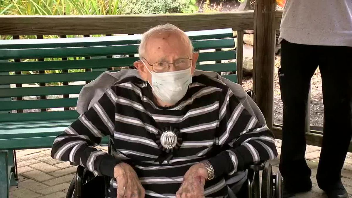For World War II veteran Elmer Kruse, this birthday is a special one. (Source: WXIX)