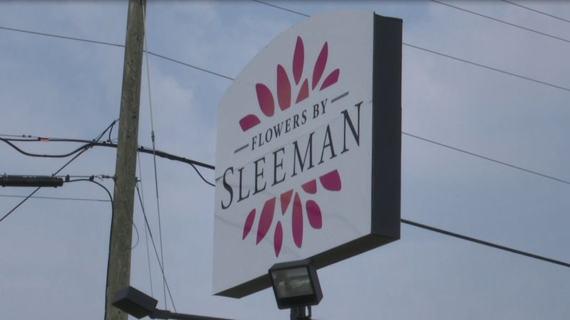 Flowers by Sleeman is located on US-41 in Houghton, by Walgreens.